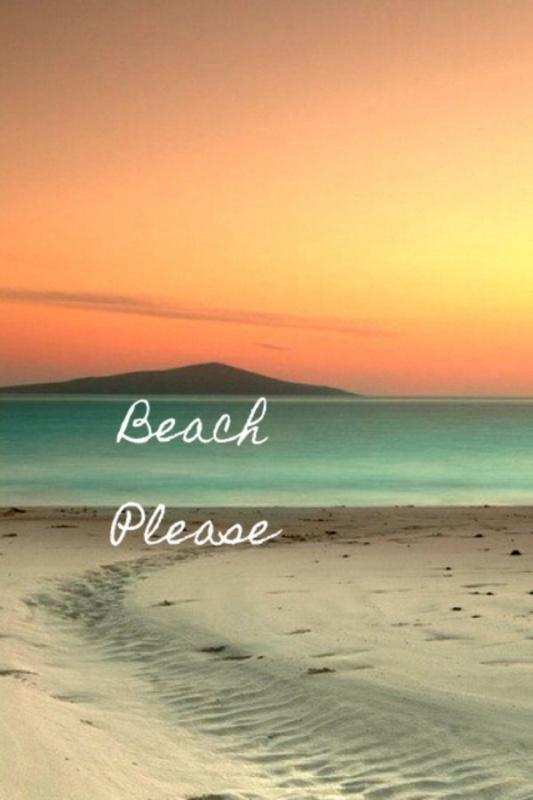 Beach please Picture Quote #2