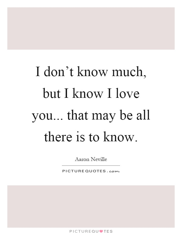 I Love You But You Don T Know It