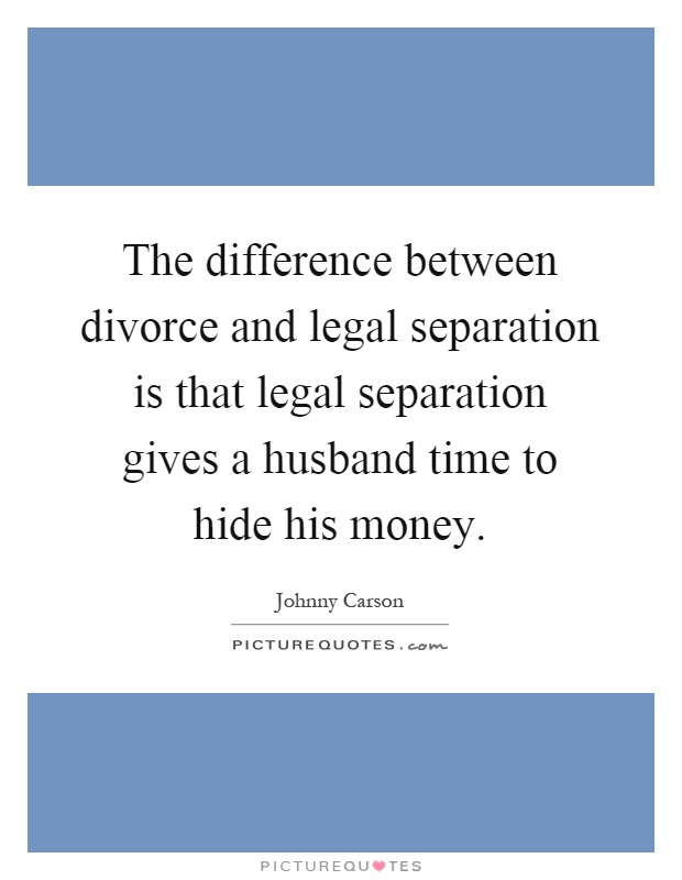 What is the Difference Between Legal Separation vs. Divorce?