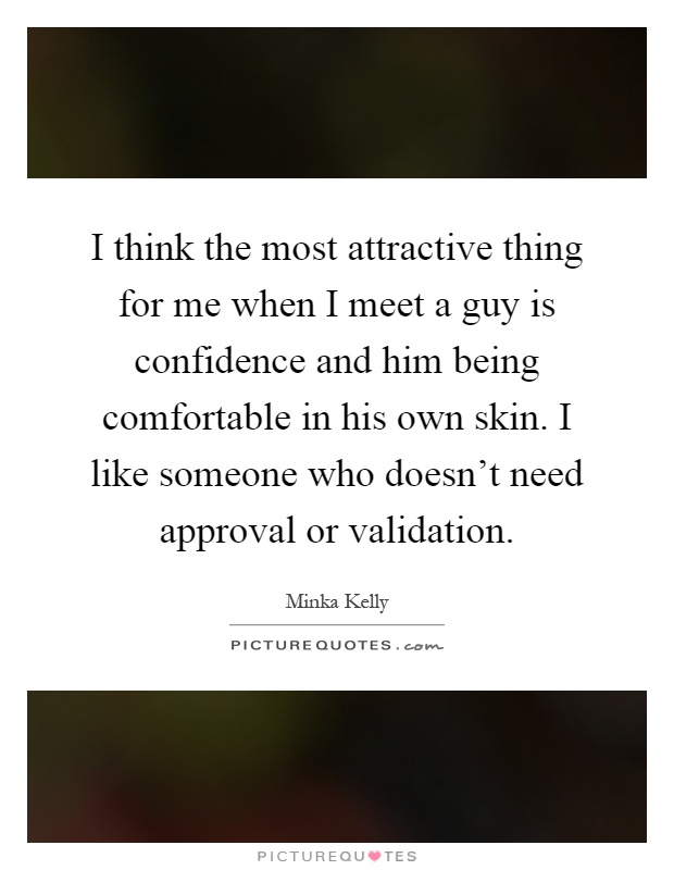 Most attractive thing about a guy