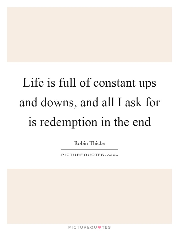 Redemption life quotes