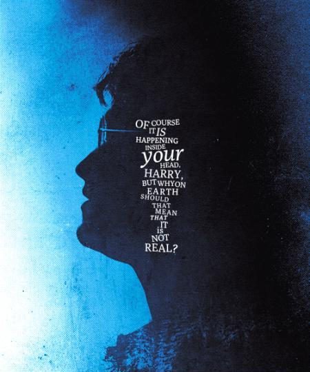 Of course it is happening in your head Harry, but why on Earth should that mean it is not real? Picture Quote #1