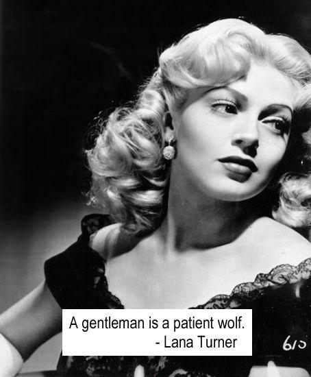 A gentleman is a patient wolf Picture Quote #1