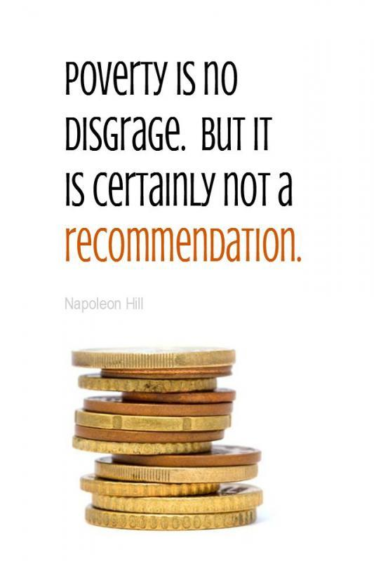 Poverty is no disgrace. But it is certainly not a recommendation Picture Quote #1