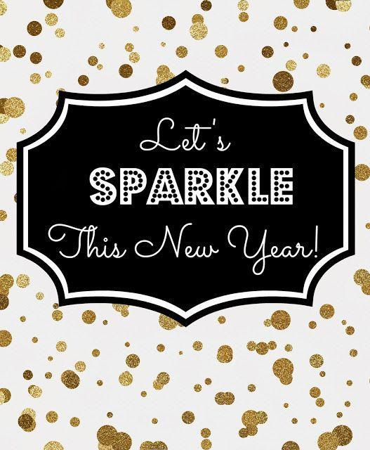 Let's sparkle this new year! Picture Quote #1