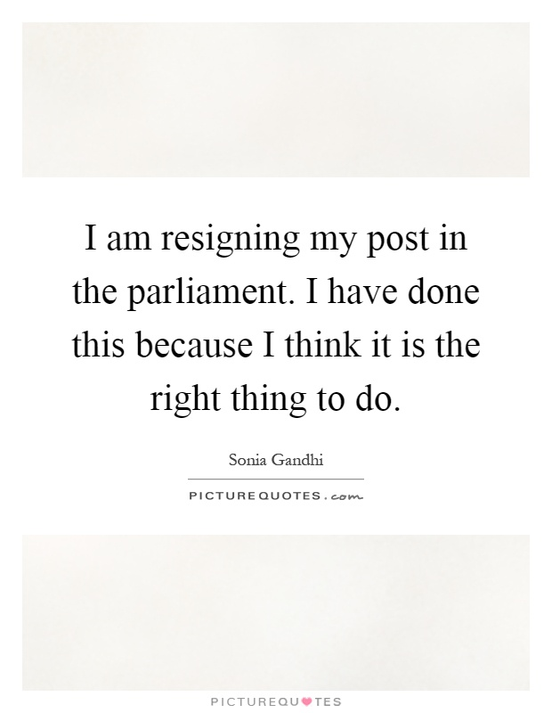 Resigning Right Resignation Letter  Trustee Resignation Letter