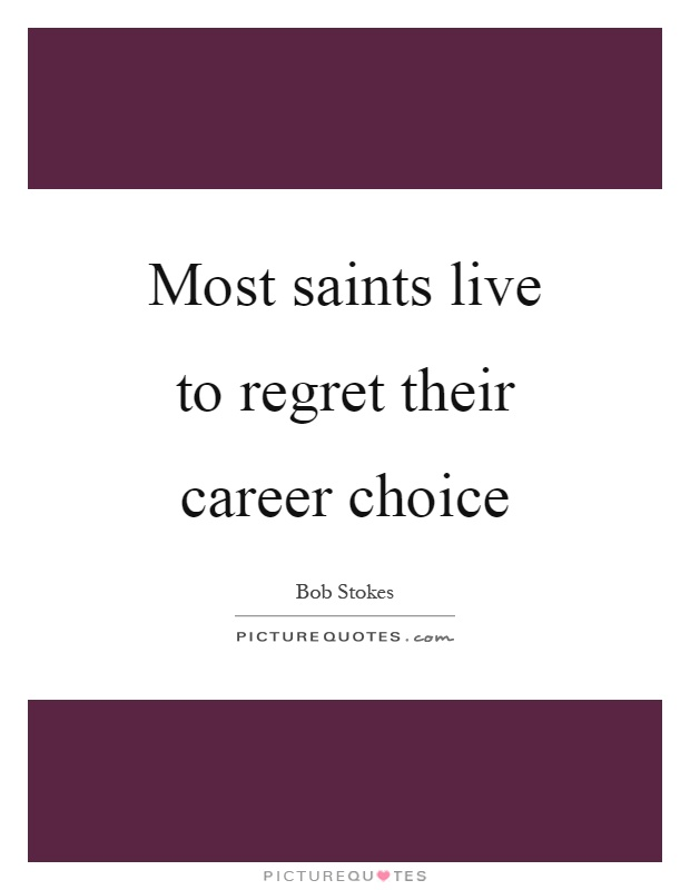 quotes about career choices