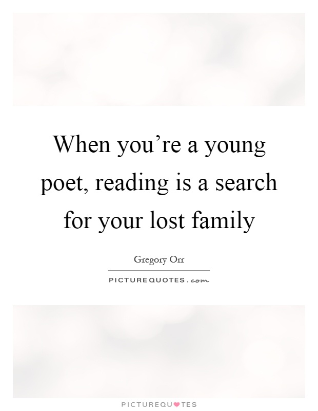 Lost Family Quotes & Sayings | Lost Family Picture Quotes
