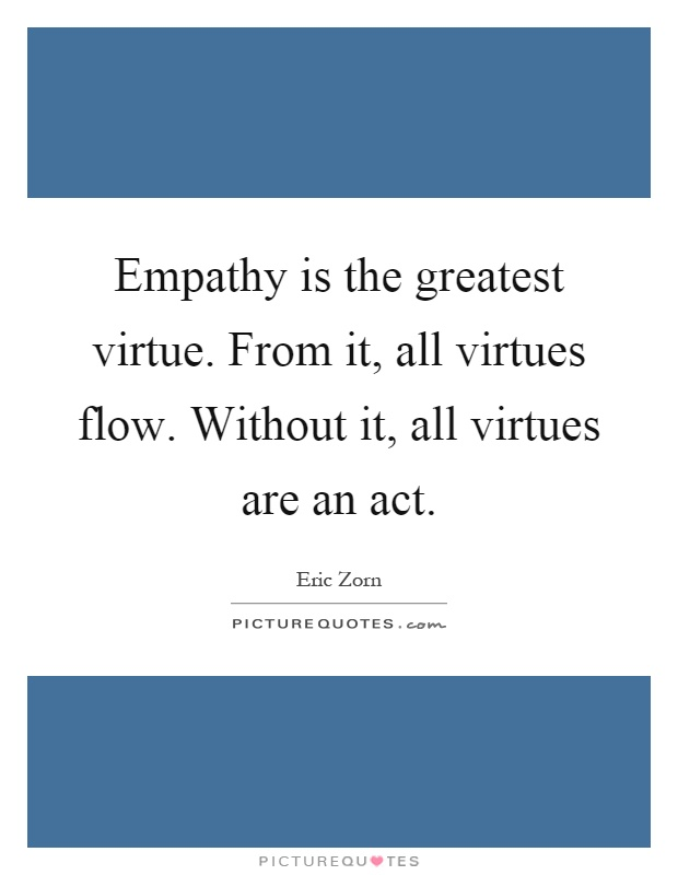 is empathy an important aspect of Two studies in the past month have identified specific brain regions linked to empathy a lack of empathy and autocorrects this specific part of important to.