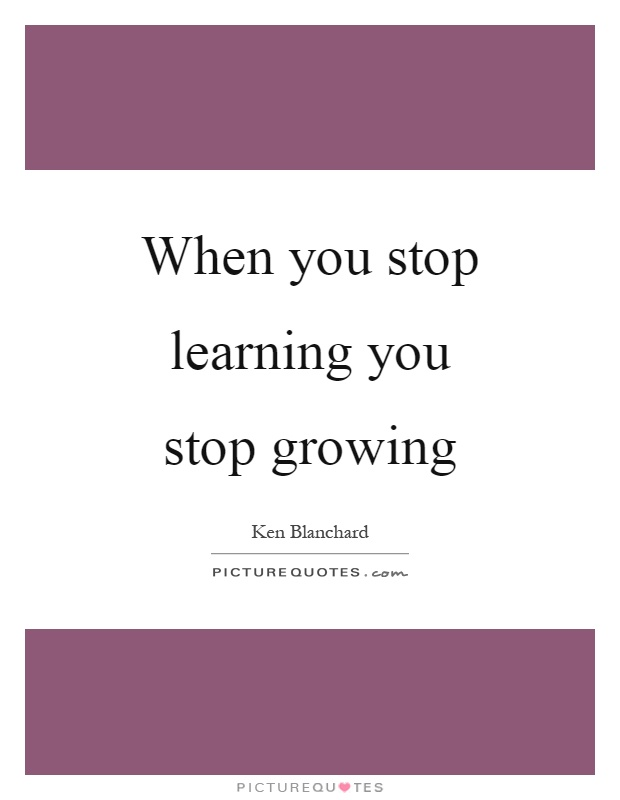 Stop growing : pitaniesug ga