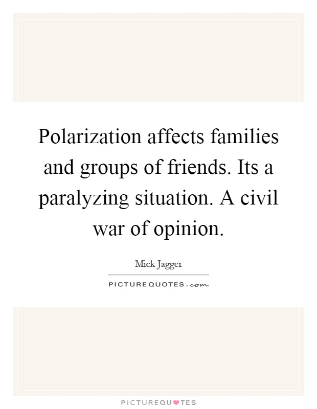 polarization of opinion is not the Abstract we study the issue of polarization in society through a model of opinion formation we say an opinion formation process is polarizing if it results in increased divergence of opinions.