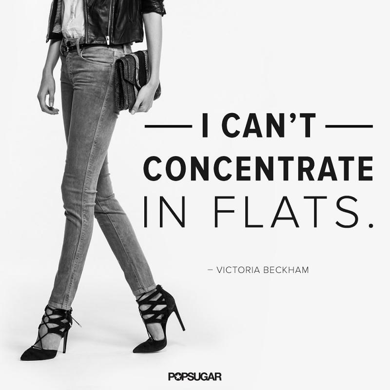 I can't concentrate in flats Picture Quote #1