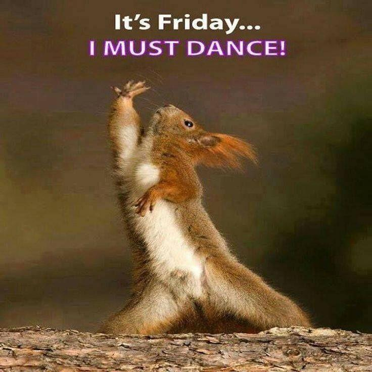 It's Friday, I must dance Picture Quote #1