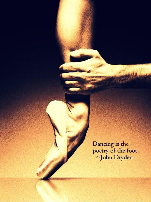 Dancing is the poetry of the foot Picture Quote #1