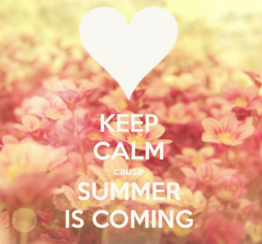 Keep calm summer is coming | Picture Quotes