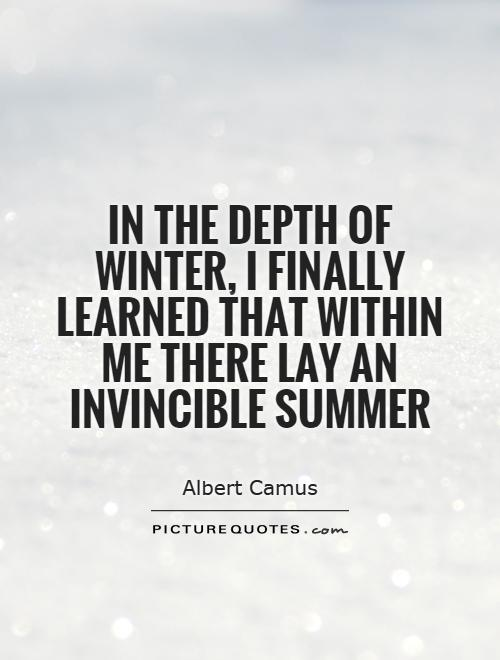 Invincible Summer Quotes