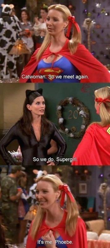 Catwoman, so we meet again. So we do, Supergirl. It's me Phoebe Picture Quote #1