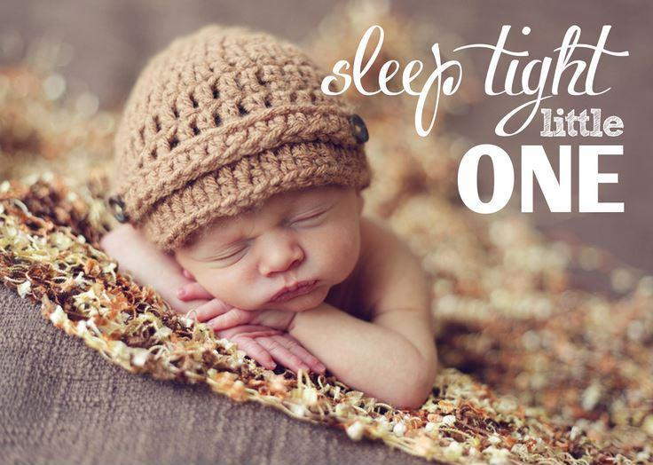 Sleep tight little one Picture Quote #1