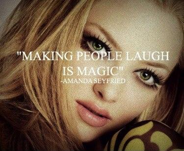 Making people laugh is magic Picture Quote #1