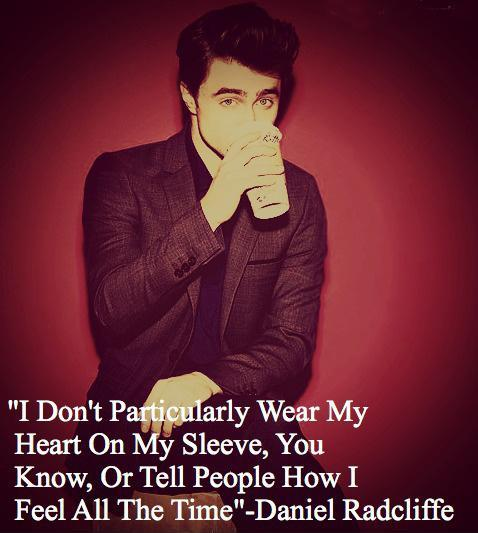 I don't particularly wear my heart on my sleeve, you know, or tell people how I feel all the time Picture Quote #1