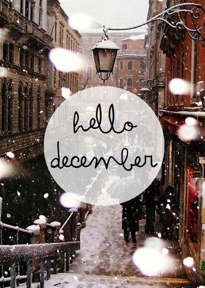 Hello December  Picture Quote #1