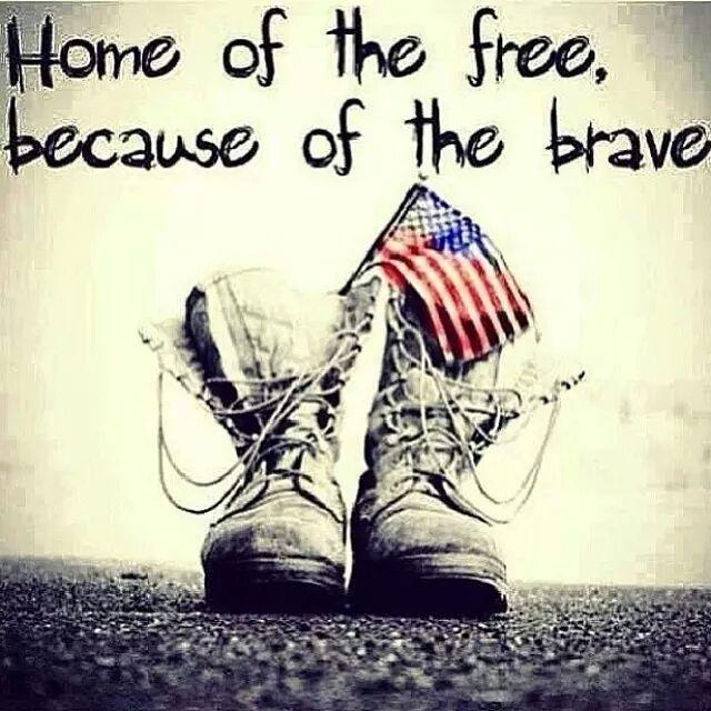 Home of the free, because of the brave Picture Quote #2