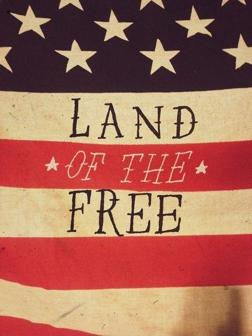Land of the free Picture Quote #2