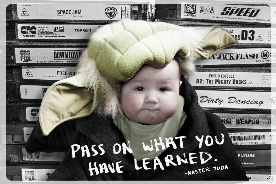 Pass on what you have learned Picture Quote #1