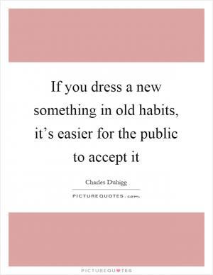 how to break old habits