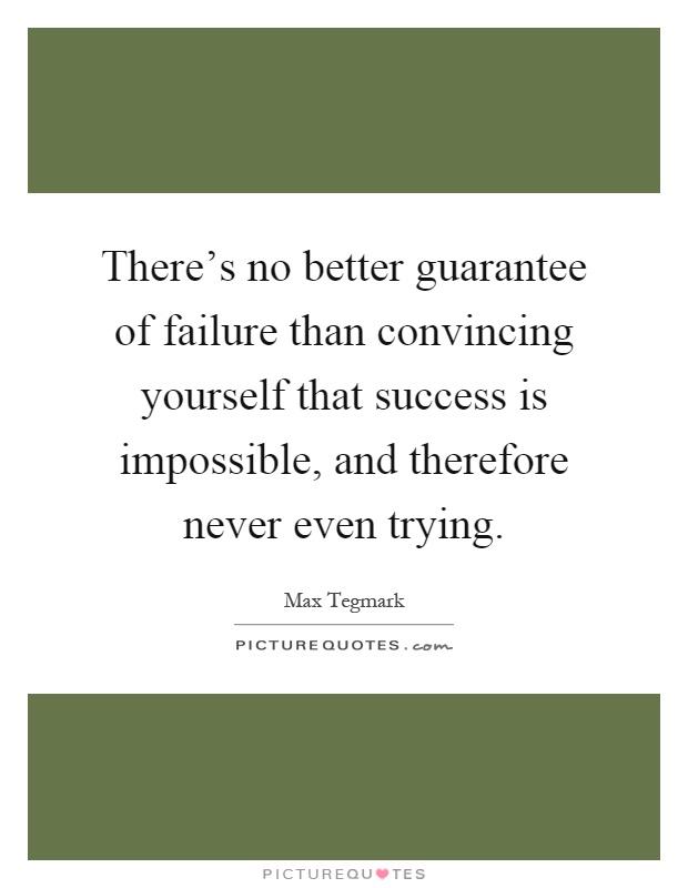 Failure is better than success essay