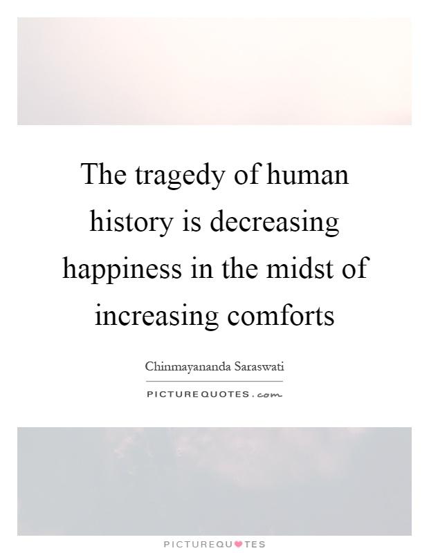 humanity is decreasing