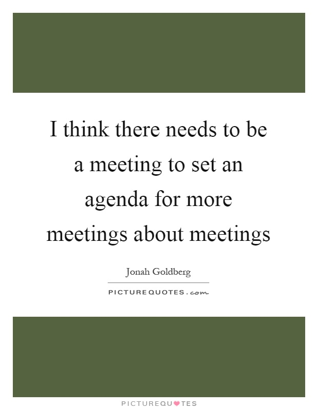 how to set out meeting agenda