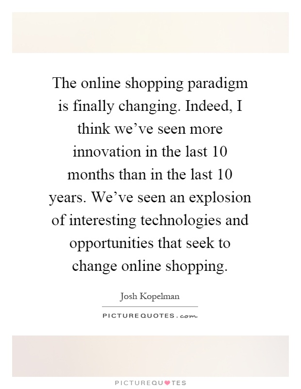 Quotation for online shopping website
