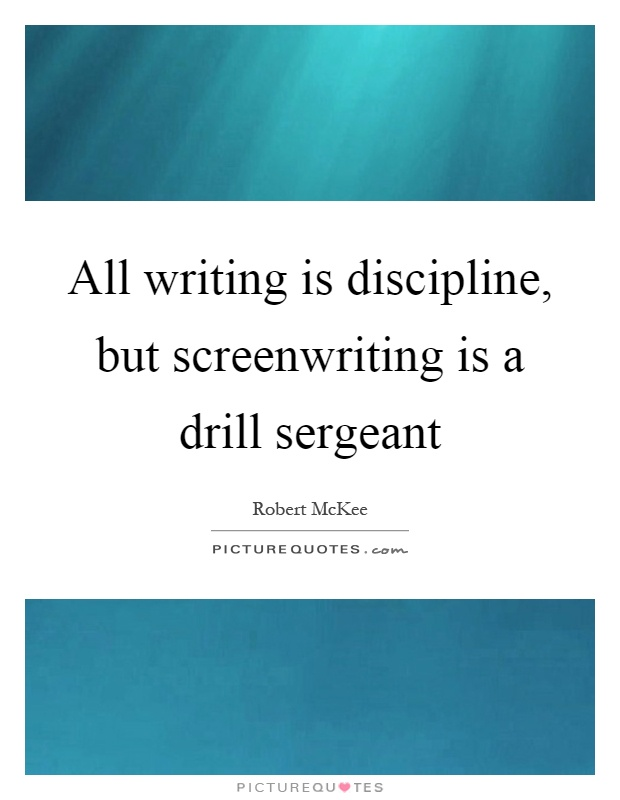 write an essay discipline The value of discipline - short essay topics: civilization discipline is necessary, in the first place, for one's moral life self-indulgence is a natural.
