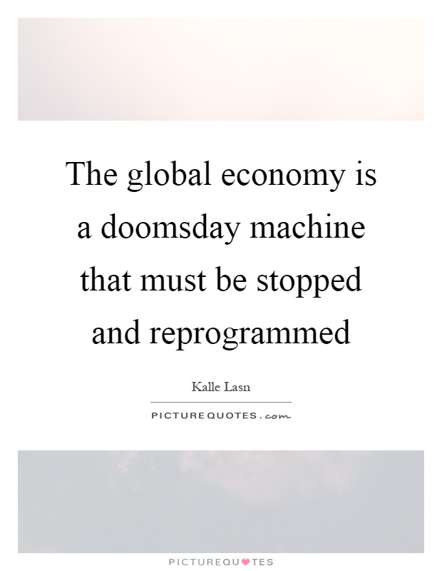 when the machine stopped