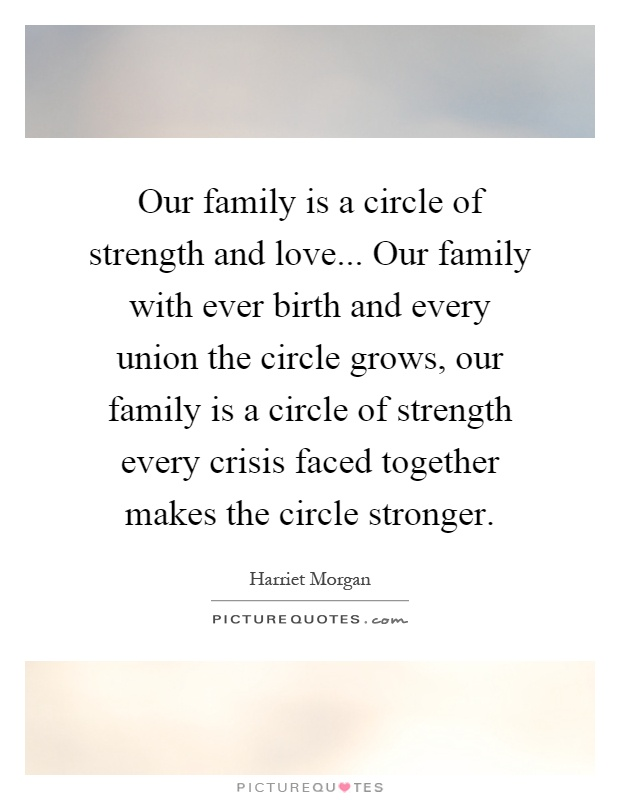 Quotes About Family Love And Strength : our-family-is-a-circle-of-strength-and-love-our-family-with-ever-birth ...