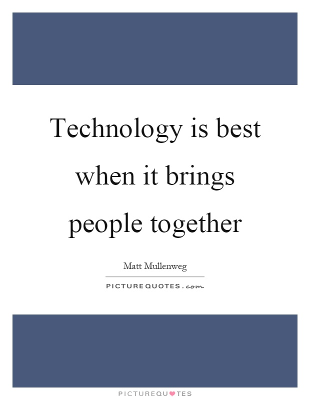 technology is good essay