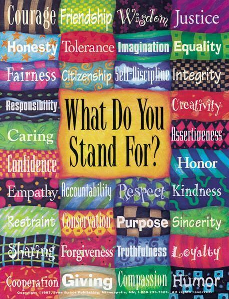 What do you stand for? Picture Quote #1
