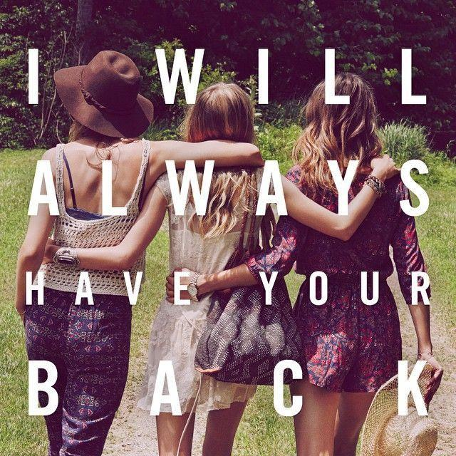 I will always have your back Picture Quote #1