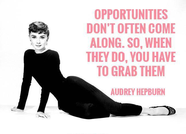 Opportunities don't often come along. So, when they do you have to grab them Picture Quote #1