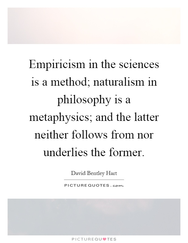 the concept of empiricism and the philosophy of experience Home a level and ib philosophy concept empiricism concept empiricism 50 / 5 an idea is a concept experience therefore gives us simple impressions: pale.