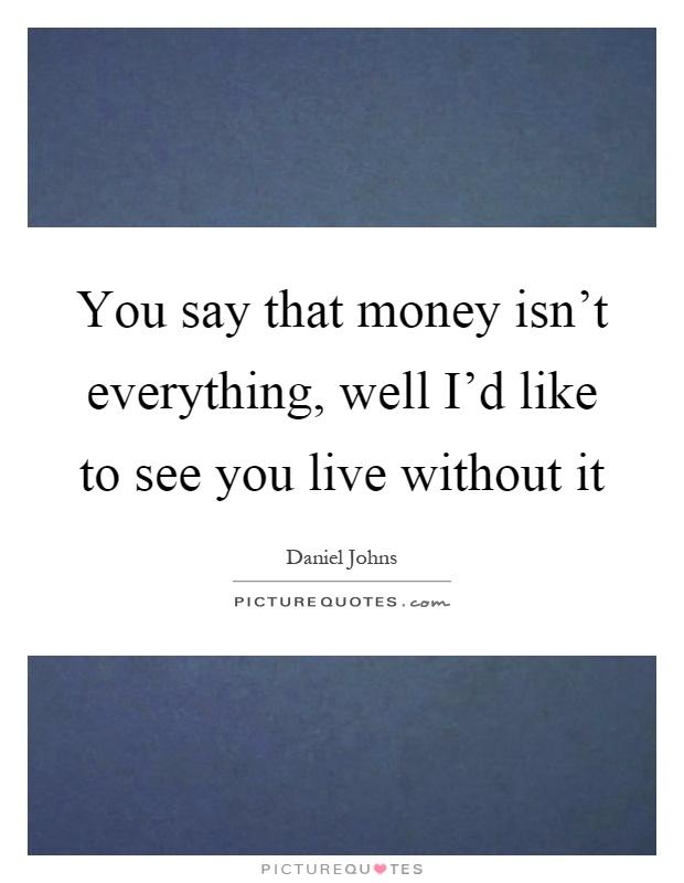 Essay About Money