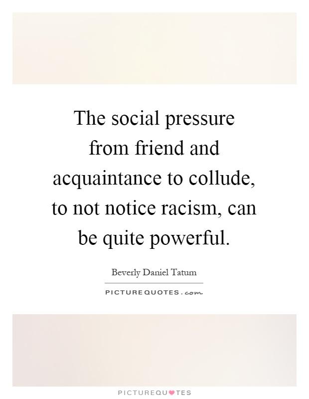 Prejudice can be hurtful and destructive