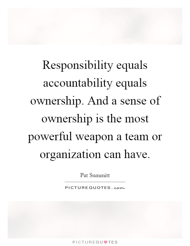 the home team the responsibility Care professional, care team, or health care organization) accepts responsibility for failures in the aspect(s) of care for which it is accountable the patient or family also.