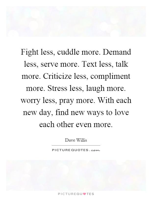 fight less love more pdf