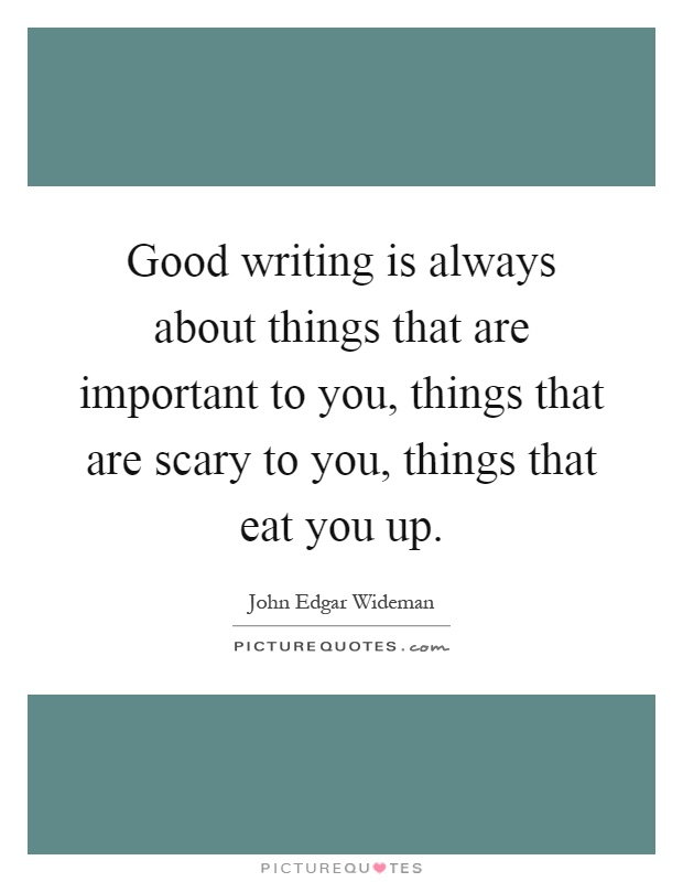 write about something valuable that you lost An essay is something you write to try to figure something out figure out what you don't know yet  and so they're the most valuable sort of fact you can get.