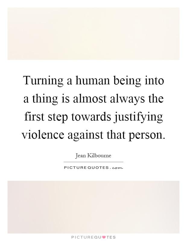 justification of violence essay