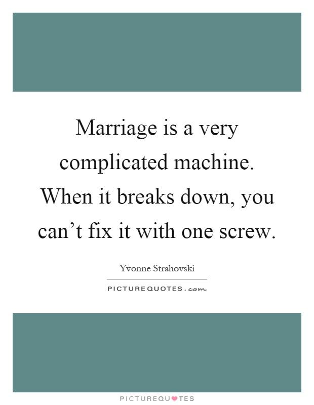 complicated machine