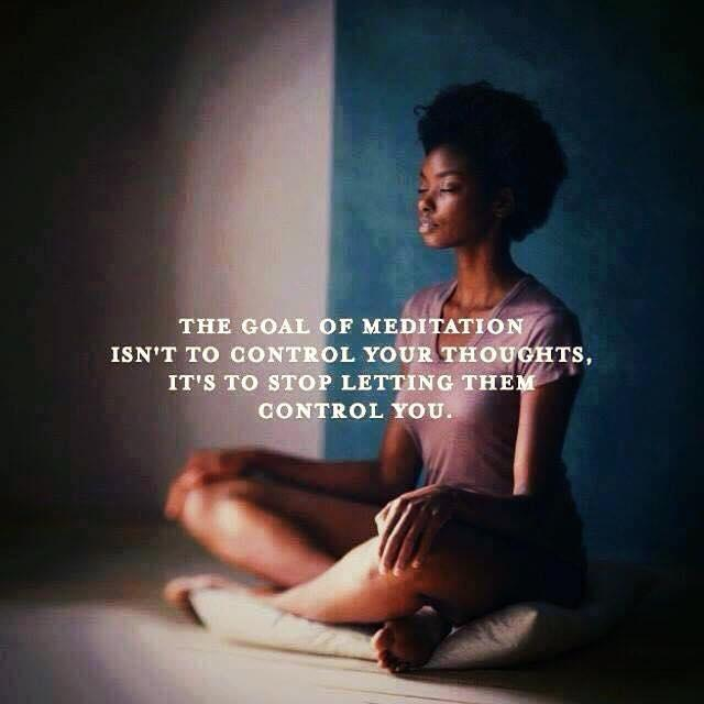 The Goal Of Meditation Isn't To Control Your Thoughts, It