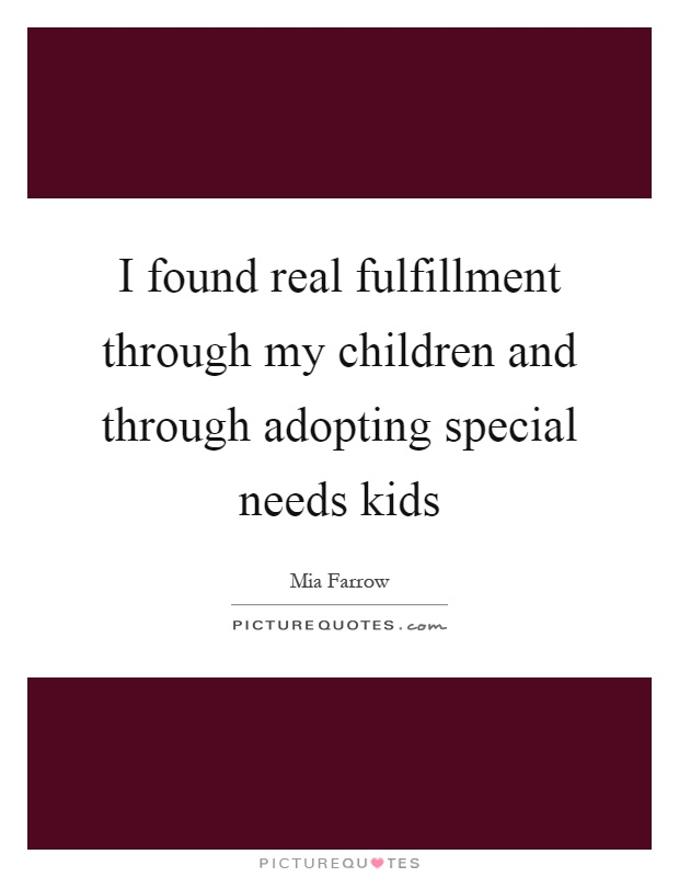 adopting special needs children Special needs adoption the cradle places a few special needs infants each year we have a careful screening process for identifying families for our most precious special needs babies.